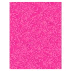 Geometric Pattern Wallpaper Pink Drawstring Bag (large)
