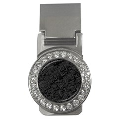 Black Rectangle Wallpaper Grey Money Clips (cz)