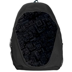 Black Rectangle Wallpaper Grey Backpack Bag