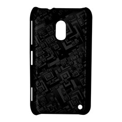 Black Rectangle Wallpaper Grey Nokia Lumia 620