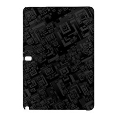 Black Rectangle Wallpaper Grey Samsung Galaxy Tab Pro 10 1 Hardshell Case