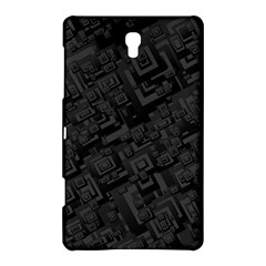 Black Rectangle Wallpaper Grey Samsung Galaxy Tab S (8 4 ) Hardshell Case