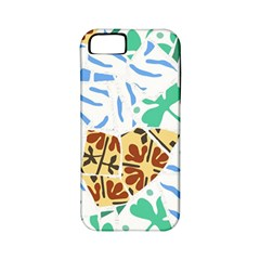 Broken Tile Texture Background Apple Iphone 5 Classic Hardshell Case (pc+silicone)