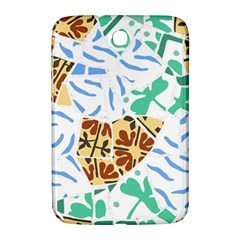 Broken Tile Texture Background Samsung Galaxy Note 8 0 N5100 Hardshell Case