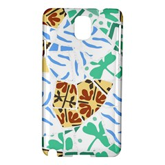 Broken Tile Texture Background Samsung Galaxy Note 3 N9005 Hardshell Case