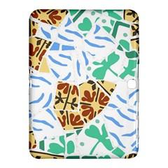 Broken Tile Texture Background Samsung Galaxy Tab 4 (10.1 ) Hardshell Case