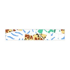 Broken Tile Texture Background Flano Scarf (Mini)