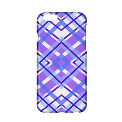 Geometric Plaid Pale Purple Blue Apple Iphone 6/6s Hardshell Case