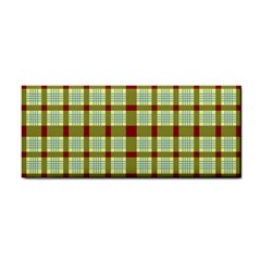 Geometric Tartan Pattern Square Cosmetic Storage Cases