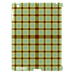 Geometric Tartan Pattern Square Apple Ipad 3/4 Hardshell Case (compatible With Smart Cover)