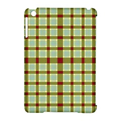 Geometric Tartan Pattern Square Apple Ipad Mini Hardshell Case (compatible With Smart Cover)