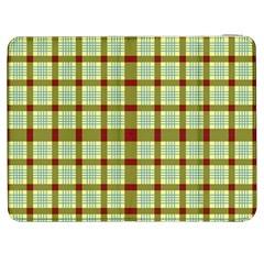 Geometric Tartan Pattern Square Samsung Galaxy Tab 7  P1000 Flip Case