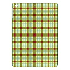 Geometric Tartan Pattern Square iPad Air Hardshell Cases