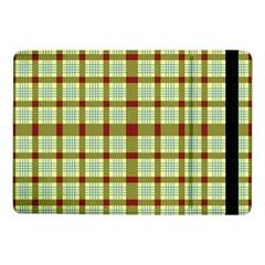 Geometric Tartan Pattern Square Samsung Galaxy Tab Pro 10 1  Flip Case