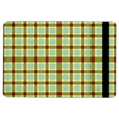 Geometric Tartan Pattern Square Ipad Air 2 Flip