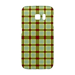 Geometric Tartan Pattern Square Galaxy S6 Edge