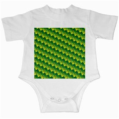 Dragon Scale Scales Pattern Infant Creepers