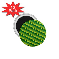 Dragon Scale Scales Pattern 1 75  Magnets (10 Pack)