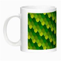 Dragon Scale Scales Pattern Night Luminous Mugs
