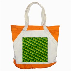 Dragon Scale Scales Pattern Accent Tote Bag