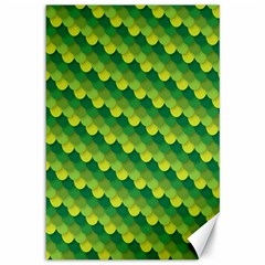 Dragon Scale Scales Pattern Canvas 12  X 18