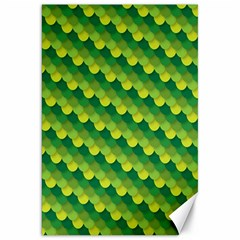 Dragon Scale Scales Pattern Canvas 20  X 30