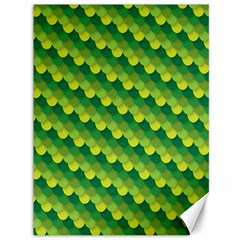 Dragon Scale Scales Pattern Canvas 36  X 48