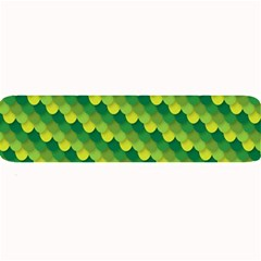 Dragon Scale Scales Pattern Large Bar Mats