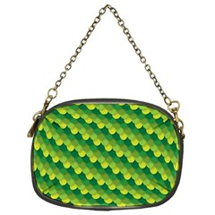 Dragon Scale Scales Pattern Chain Purses (one Side)