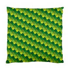 Dragon Scale Scales Pattern Standard Cushion Case (Two Sides)