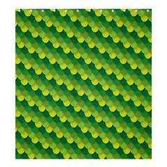 Dragon Scale Scales Pattern Shower Curtain 66  X 72  (large)