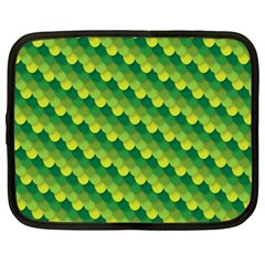 Dragon Scale Scales Pattern Netbook Case (xxl)