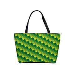Dragon Scale Scales Pattern Shoulder Handbags