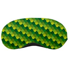 Dragon Scale Scales Pattern Sleeping Masks