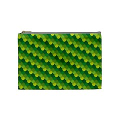 Dragon Scale Scales Pattern Cosmetic Bag (medium)