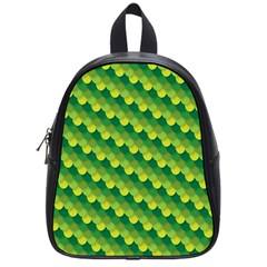 Dragon Scale Scales Pattern School Bags (small)