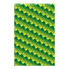 Dragon Scale Scales Pattern Shower Curtain 48  x 72  (Small)