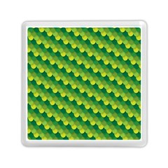 Dragon Scale Scales Pattern Memory Card Reader (square)