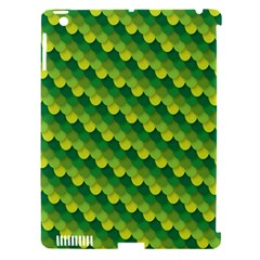 Dragon Scale Scales Pattern Apple iPad 3/4 Hardshell Case (Compatible with Smart Cover)