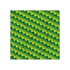 Dragon Scale Scales Pattern Acrylic Tangram Puzzle (4  X 4 )