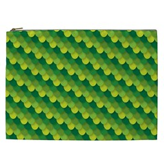 Dragon Scale Scales Pattern Cosmetic Bag (XXL)