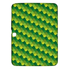 Dragon Scale Scales Pattern Samsung Galaxy Tab 3 (10 1 ) P5200 Hardshell Case