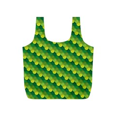 Dragon Scale Scales Pattern Full Print Recycle Bags (s)