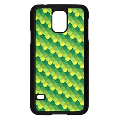 Dragon Scale Scales Pattern Samsung Galaxy S5 Case (Black)