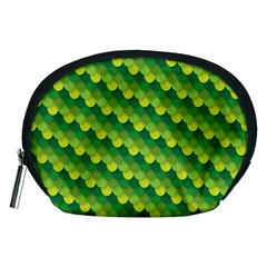 Dragon Scale Scales Pattern Accessory Pouches (medium)