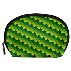 Dragon Scale Scales Pattern Accessory Pouches (large)