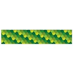 Dragon Scale Scales Pattern Flano Scarf (Small)