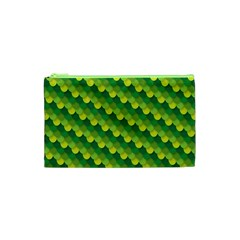 Dragon Scale Scales Pattern Cosmetic Bag (XS)