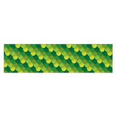 Dragon Scale Scales Pattern Satin Scarf (oblong)
