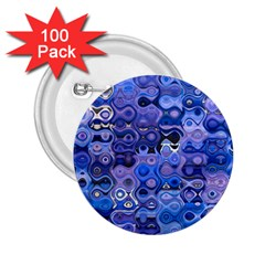 Background Texture Pattern Colorful 2 25  Buttons (100 Pack)